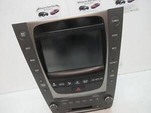 LEXUS GS300 RADIO/CD/DVD/SAT/TV 190 SERIES, 03/05-12/11 05 06 07 08 09 10 11