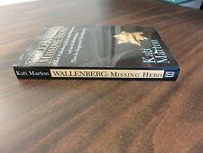 Wallenberg Missing Hero Kati Marton SIGNED PPB 1995 Arcade FREE SHIP