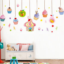 Cupcake, Candy Cane Wall Sticker for Child Room Decor(XL8108)