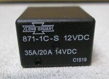 Song Chuan ISO Relay 12VDC coil SPDT 35/20A PN 871-1C-S 12VDC NEW USA SELLER
