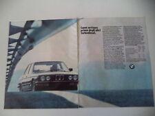 advertising Pubblicità 1984 BMW 524 TD