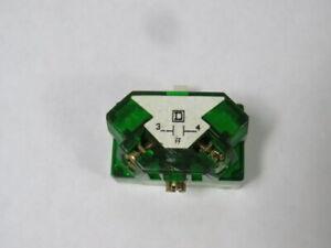 Square D 9001-KA2 Series H Green Contact Block 3A 240V 1NO ! WOW !