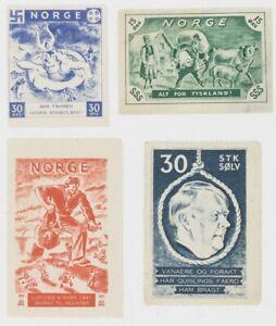Norway WW2 Ultra Rare Propaganda Set Facsimiles Copy