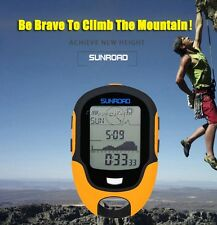 Sunroad FR500 Multifunction LCD Digital Altimeter Barometer Compass Thermometer