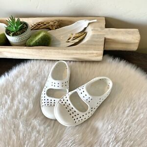Native Shoes Toddler Girls Size 5 White Mary Janes