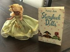 "Vtg 5 1/2"" Daffy Down Dilly Doll #171 Bisque Nancy Ann Storybook Original Box"