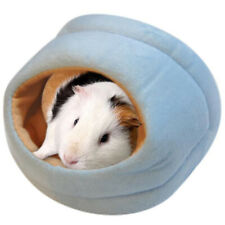Rats Hamster Winter Warm Fleece Hanging Cage Hammock Cute House With Bed _sh_ .