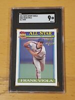 1991 Topps Desert Shield Frank Viola #406 SGC 9 Newly Graded