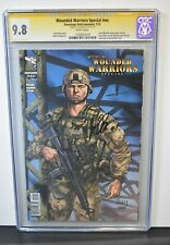 Wounded Warriors Special #nn 2013 CGC Grade 9.8 Sign Series Sign Joe Brusha