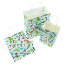 2pcs Dinosaurs Paper Gift Bags with handles Candy Box for Party Gift Packaging D
