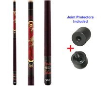 Viper Underground 50-0652 Fatal Shot Pool Cue Stick 18-21 oz & Joint Protectors