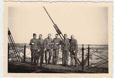 (f915) ORIG. photo wehrmacht soldats sur perspective plate-forme (tour Eiffel?), 1940er