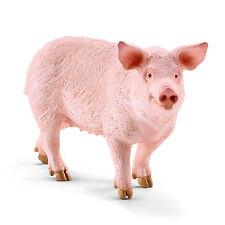W6) SCHLEICH (13782) Cerdo Granja Schleich Animales