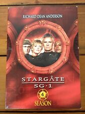 Stargate SG1 Fourth Season 4 Sci-Fi TV DVD Richard Dean Anderson Amanda Tapping
