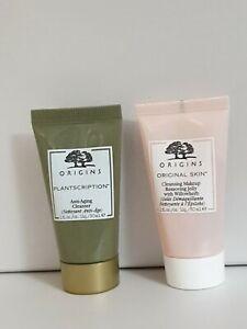 Origins PLANTSCRIPTION Anti-Aging CLEANSER & Cleansing makeup remover 30ml each