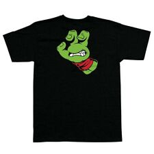 Santa Cruz x Tmnt Teenage Mutant Ninja Turtles Hand Shirt Black/w Red Large