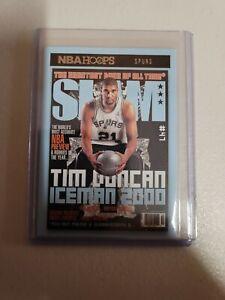 20-21 Panini Hoops Basketball TIM DUNCAN Slam #8