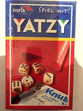 Würfelspiel - Yatzi - noris - ( Kniffel ) - Spiel mit