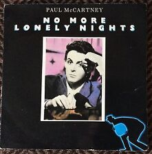 PAUL McCARTNEY,NO MORE LONELY NIGHTS,7 LP,VINYL GREAT CONDITION.