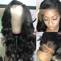 Silk Top Full Lace Front Wig Virgin Peruvian Human Hair Wigs For Women Baby Hair