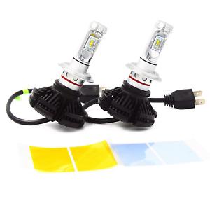 2x Lampade H7 LED 50W Bianco 6500K Canbus Anabbaglianti Per Audi