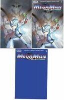 Mega Man Fully Charged #1 Peach Momoko Scorpion Comics set IN HAND