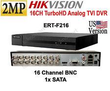 Hikvision 2MP 16CH Turbo HD DVR Suppport 1080p HD-TVI H.264+ 1xSATA - US Version