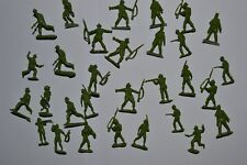 Marx. British Jungle Vert WWII 30. 30 mm soldats Set (b2)