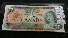 "Canada 1979 $20 Dollar UNC. Crow-Bouey CBN ""50"" Very Nice High Grade Banknote"