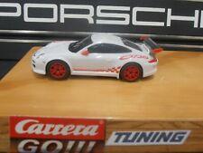 Carrera Go!!! Porsche GT3 RSR  Tuning: Motor ,Slicks, Magnet , Vorderachse Weiß