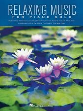 Relaxing Music for Piano Solo Sheet Music Piano Solo SongBook NEW 000130679