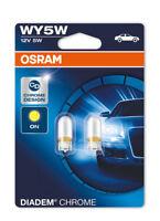 Osram WY5W (501A) 5W Diadem Chrome Design Indicator Bulbs 2827DC-02B Twin Pack