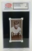 1938 WA & AC Churchman JIMMY WALSH Boxing Personalities #37 Tobacco Card NM MT 8