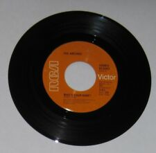 "The Archies - Canadian 45 - ""Who's Your Baby?"" / ""Senorita Rita"" - VG+"