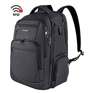 KROSER Travel Laptop Backpack 17.3 Inch Large Computer Backpack Water-Repellent