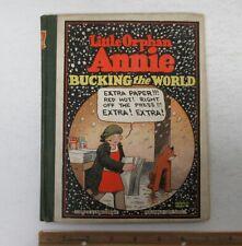 (1929) Little Orphan Annie Bucking the World Platinum Age HC Comic Book #4 y4381