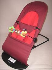bébé BJÖRN Bascule BABY-sitter BALANCE DOUX rouille / orange + arc de jeu bébé