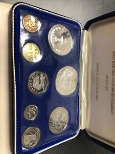 First National Coinage of Barbados~ 1973 Proof Set~by Franklin Mint