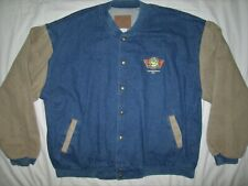 TCI TOTAL COST INVOLVED Street Rod Parts Official Denim Jacket THREE RIVERS 2XL