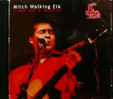 CD Mitch Walking Elk: time for a woman, Native American Blues Folk indiani musica