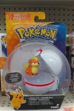 TOMY Pokemon Clip N' Carry Growlithe Figure w/ Pokéball Premier Ball