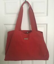 BAGGALINI Everywhere Bag nylon Tote Apple/Red multi-pocketed