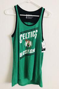 NBA Boston Celtics Women's Slub Jersey Tank Top Size S NWT