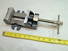 """ERON Machinist Vise, 3-1/8"""" Wide Jaws, Opens to 3-1/8"""" , 1-1/2"""" Tall Jaws, Japan"""