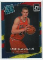 2017 Donruss Optic Rated Rookies Mega Box Red/Yellow Lauri Markkanen #159 Rookie
