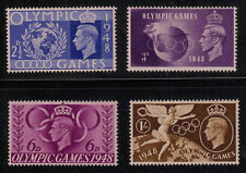 Great Britain #271-274 Mint Hinged 1948 Olympic Games Complete Set of 4 Cv $8.04