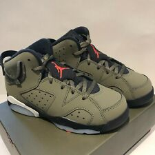 Nike Air Jordan 6 Retro Travis Scott Cactus Jack PS UK 1 US 1.5 EU 33 In hand