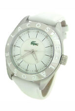 NEW LACOSTE MOTHER-OF-PEARL LEATHER LADIES WATCH 2000536