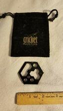 Cricket Multitool & Keychain - Stainless Steel - Black