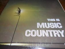 This is Music Country LP mixed country artist from columbia Records